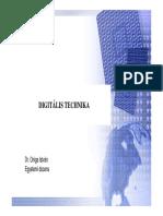 Dr. Oniga István - Digitális Technika (1. előadás))