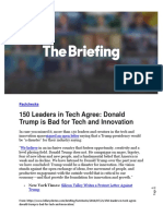 150 Leaders in Tech Agree