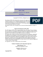 NFPA 1901 Standard for Automotive Fire Apparatus