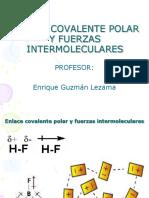 Enlace Covalente Polar y Fuerzas Intermoleculares
