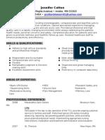 Jobswire.com Resume of jjcottonblossom81