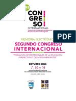 Memoria Congreso Educación 2015