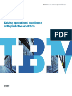 Driving Operational Excellence With Predictive Analytics1