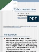 Python Crash Course 0.07
