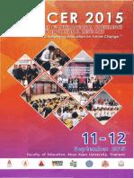 Development Characteristic of Entrepreneur Through Social Studies to Foster the Spirit of Entrepreneurship Education