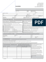 Ced Application Form