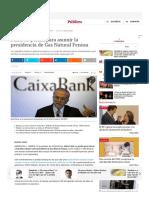 Fainé Se Perfila Para Asumir La Presidencia de Gas Natural Fenosa _ Diario Público