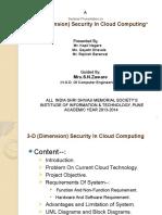 3D Cloud Computing Presentation.