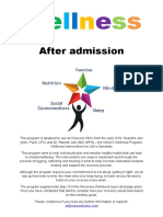 wellness after admission guide
