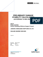 40174-152-002 Damage Stability Report Rev A
