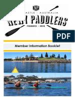 Newy Paddlers Members Handbook
