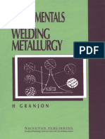 (Woodhead Publishing Series in Welding and Other Joining Technologies 6) H. Granjon-Fundamentals of Welding Metallurgy-Woodhead Publishing (1991)