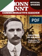 Éamonn Ceannt Commemorative Garden