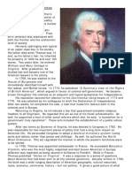 American Biography Thomas Jefferson