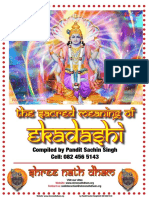The Sacred Meaning of Ekadashi
