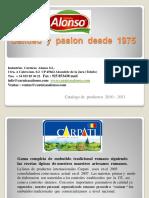 Catalogo Carpati PDF.