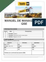 Manuel de Management Qse 2013