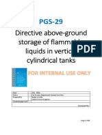 PGS-29 -Directive Above-ground Storage of Flammable Liquids in Vertical Cylindrical Tanks