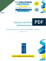 Observatoire de l'éolien - Dossier de Presse