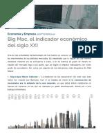 Big Mac, El Indicador Económico Del Siglo XXI – QueAprendemosHoy