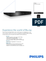 Bdp3000 PHILIPS BLURAY