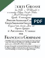 Geminiani-Concerto n°12 completo (primo)