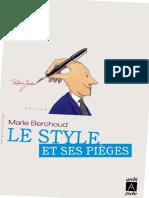 Marie-Josèphe Berchoud-Le style et ses pièges-Archipoche (2011).pdf