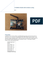 Using GSM SIM900 Arduino