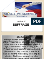 Suffrage Article v PPT