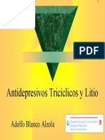 ATC LITIO Antidepresivo