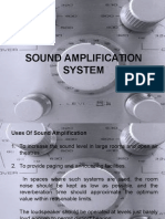 13.Sound Amplification System