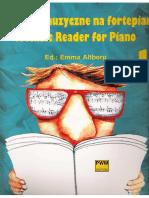 Czytanki Muzyczne Na Fortepian 1 [a Music Reader for Piano] [Emma Altberg] [PWM 1996]