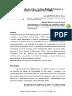 """Análise dos impactos do projeto """"Inclusão Digital"""