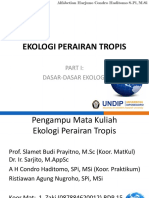 Part I-dasar2 Ekologi -New 2016