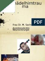 Schaedelhirntrauma