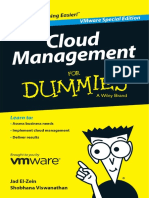 Cloud Management for Dummies VMware Special Edition