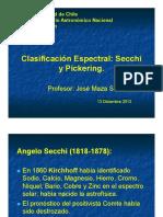 Clasificacion Espectral Secchi