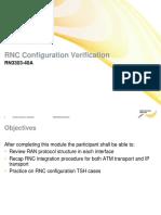 02 01 RN33032EN40GLA0 RNC Configuration Verification