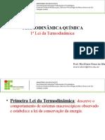 Termodinâmica Química 1ª Lei
