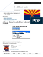 Arizona Inmate Search Department of Corrections Lookup