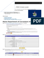Maine Inmate Search Department of Corrections Lookup