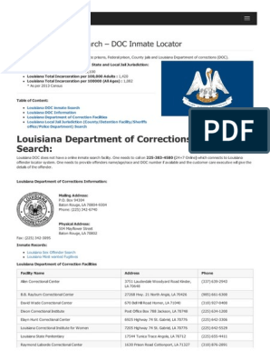 Corrections Division