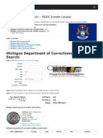 Michigan Inmate Search Department of Corrections Lookup