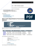 New York Inmate Search Department of Corrections Lookup
