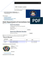 Utah Inmate Search Department of Corrections Lookup