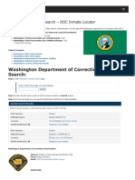 Washington Inmate Search Department of Corrections Lookup