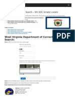 West Virginia Inmate Search Department of Corrections Lookup