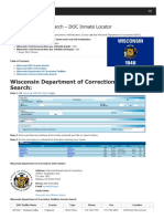 Wisconsin Inmate Search Department of Corrections Lookup