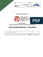 Plan de Perforacion y Voladura