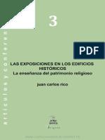 Las Exposiciones en Los Edificios Históricos La Enseñanza Del Patrimonio Religioso
